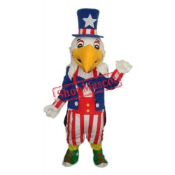 American Eagle Mascot Adult Costume Free Shipping