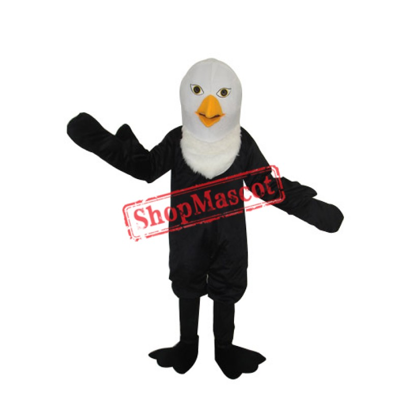 Pointed Beak Bald Eagle Mascot Adult Costume Free Shipping