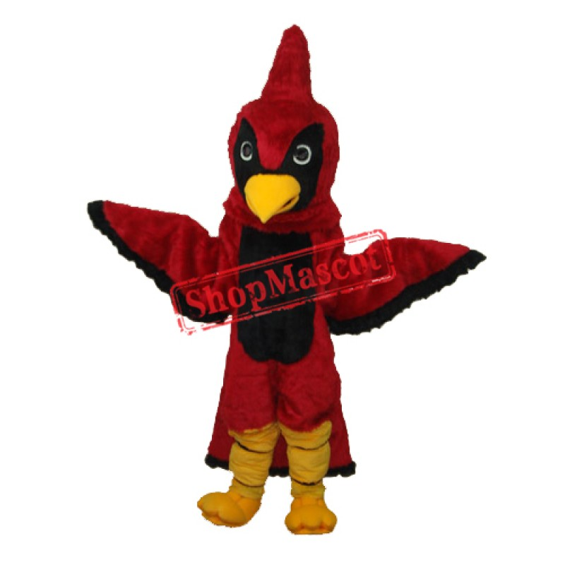 Red Eagle Mascot Adult Costume Free Shipping