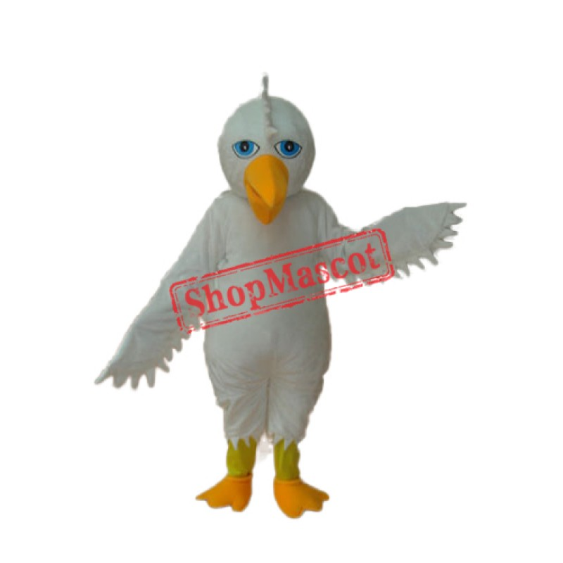 White Eagle Mascot Adult Costume Free Shipping