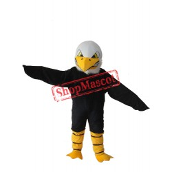 White Head Bald Eagle Mascot Adult Costume Free Shipping