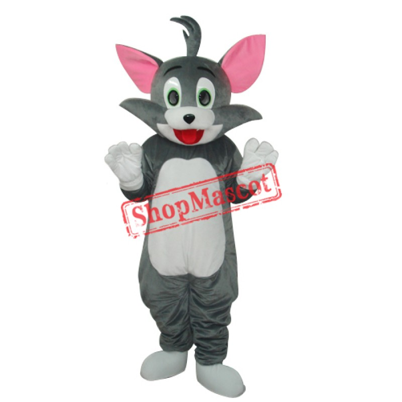2nd Version Tom Cat Mascot Adult Costume Free Shipping