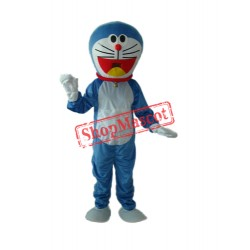 Blue Doraemon Mascot Adult Costume Free Shipping
