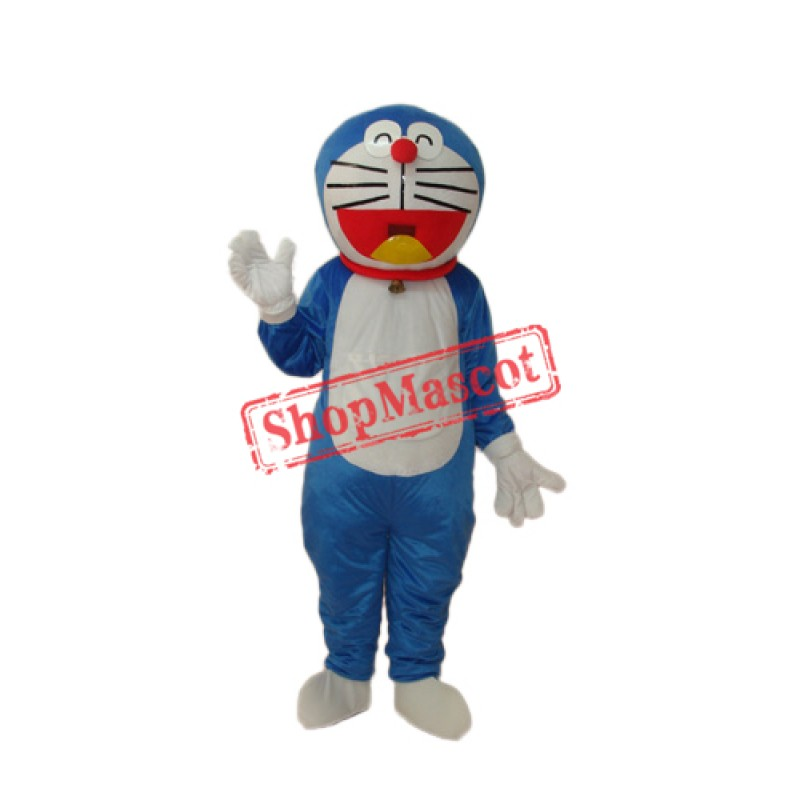 Doraemon Mascot Adult Costume Free Shipping