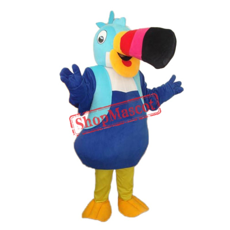 Big Nose Bird Mascot Adult Costume Free Shipping