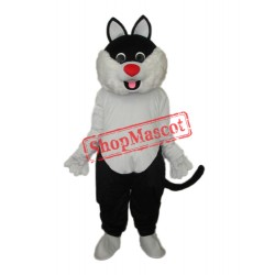 Haha Cat Mascot Adult Costume Free Shipping