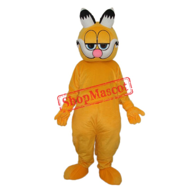 Pointed Ear Garfield Mascot Adult Costume Free Shipping