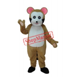 Small Brown Bobcat Mascot Adult Costume Free Shipping