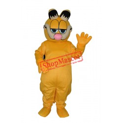 Super Cute & Funny Garfield Mascot Costume  Free Shipping