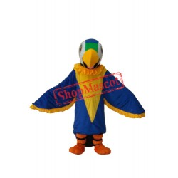 Blue Parrot Mascot Adult Costume Free Shipping