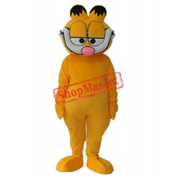 Super Cute Garfield Mascot Adult Costume Free Shipping