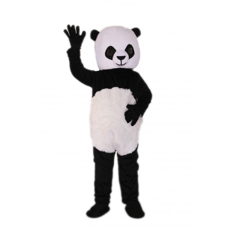 Black & White Panda Mascot Costume on Clearance