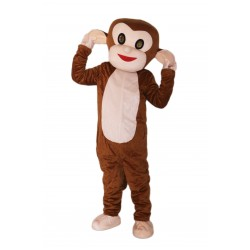 Cute Monkey Mascot Costume on Clearance