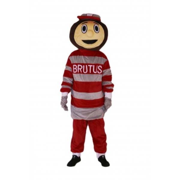 Ohio State Buckeyes Brutus Mascot Costume on Clearance
