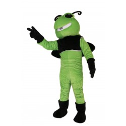 Green Bee Mascot Costume on Clearance