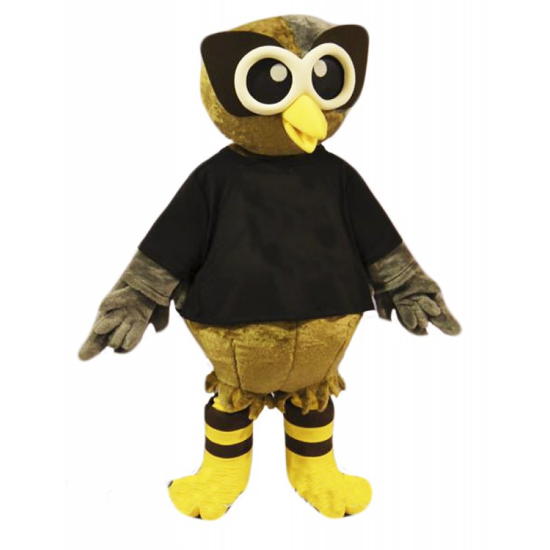 High Quality Brown Owl Mascot Costume