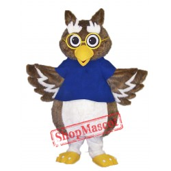 Cute Owl Mascot Costume Free Shipping