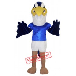 The Blue Heron Mascot Costume