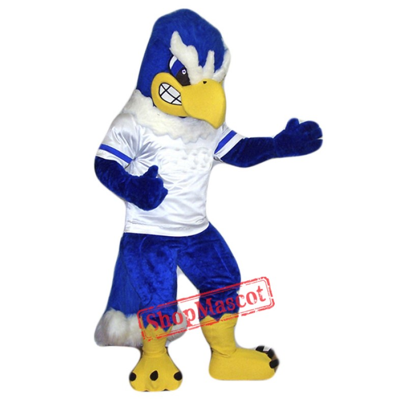 College Fierce Falcon Mascot Costume