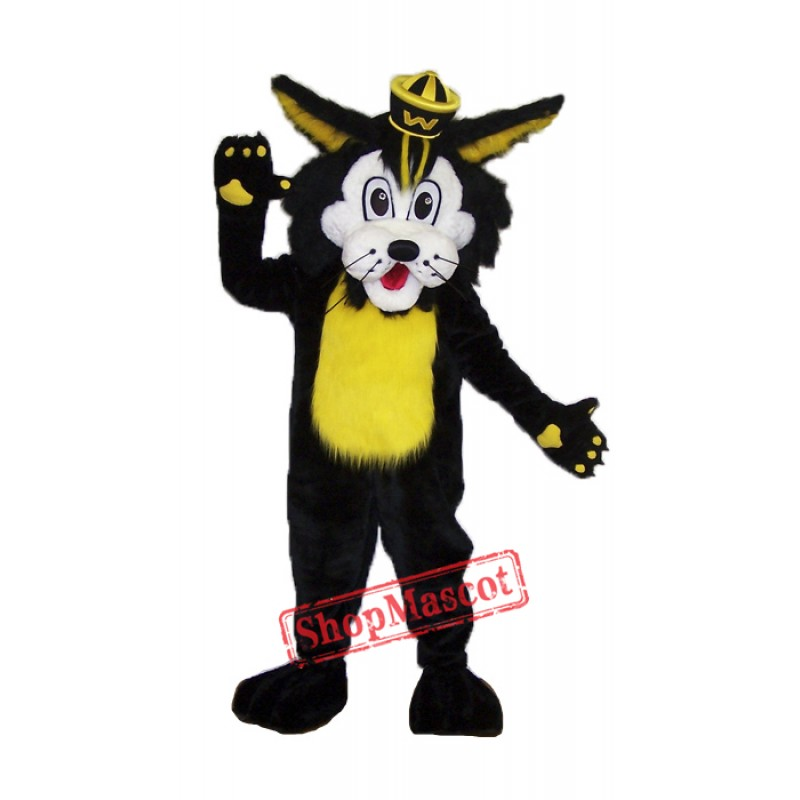 High Quality Wildcat Mascot Costume Free Shipping
