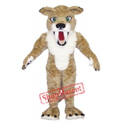 Fierce Sabercat Mascot Costume