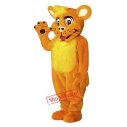 High Quality Happy Lion Mascot Costume