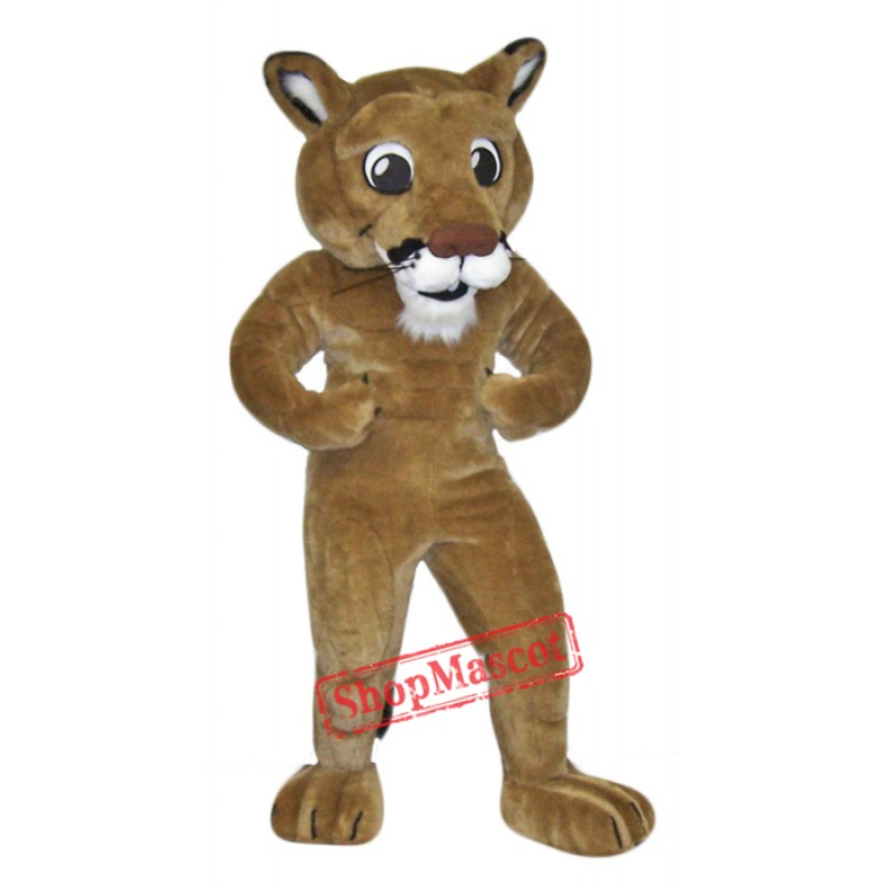 High Quality Power Lion Mascot Costume
