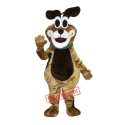 Big Eye Dog Mascot Costume