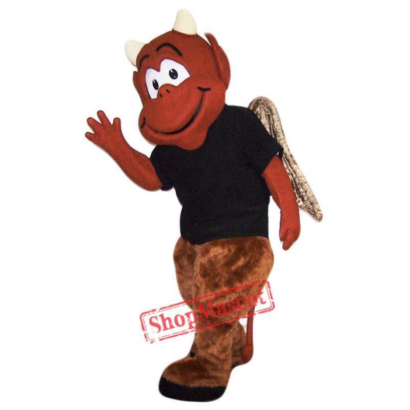 Red Devil Mascot Costume