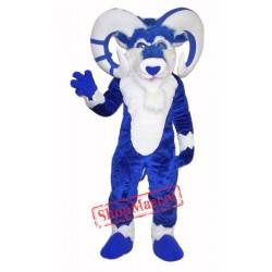 High Quality Blue Ram Mascot Costume