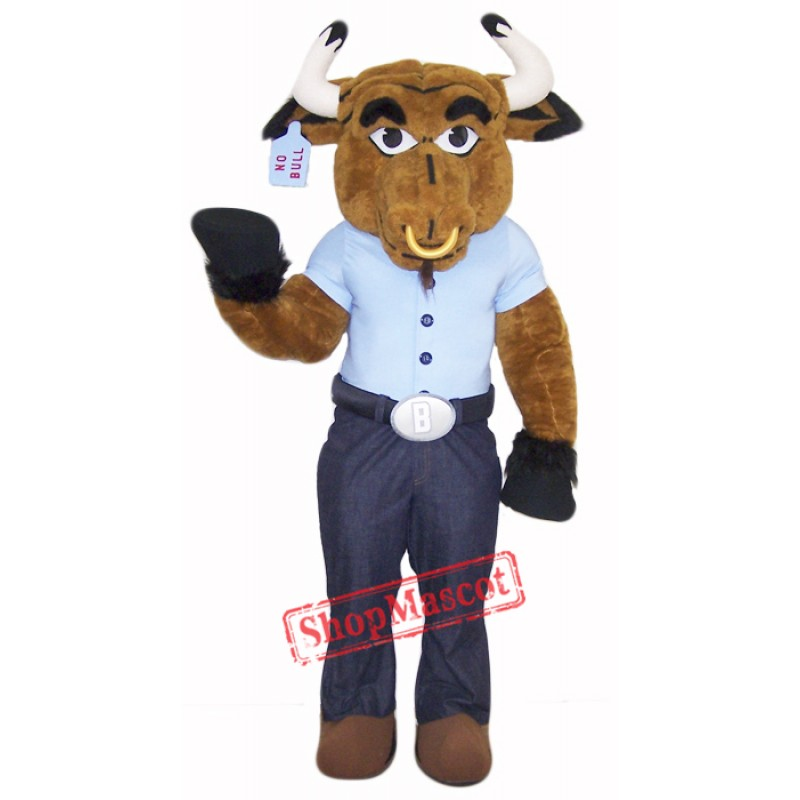 High Quality Bull Mascot Costume Free Shipping