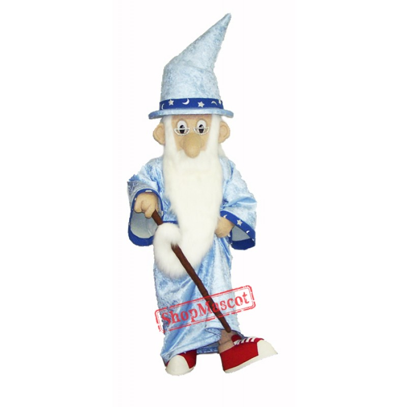Old Wizard Mascot Costume