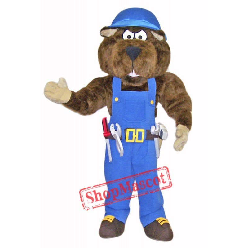Industrial Gopher Mascot Costume