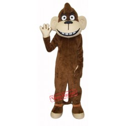 Happy Monkey Mascot Costume