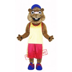 High Quality Marmot Mascot Costume