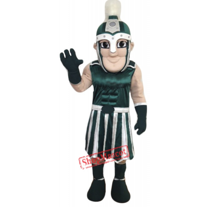 High Quality Green Crusader Mascot Costume