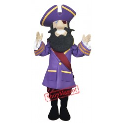 High Quality Captain Mascot Costume
