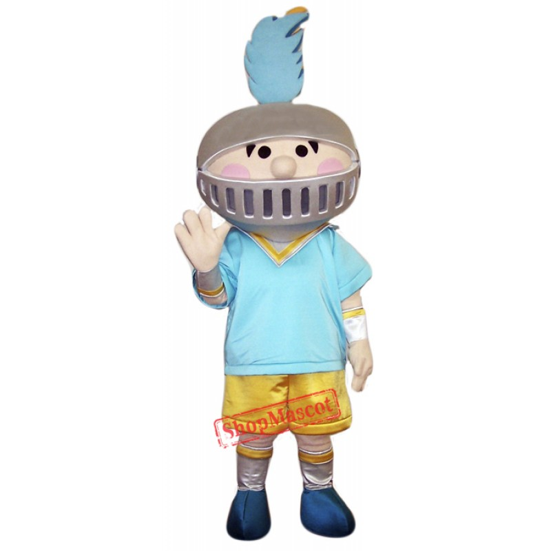 Little Boy Knight Mascot Costume