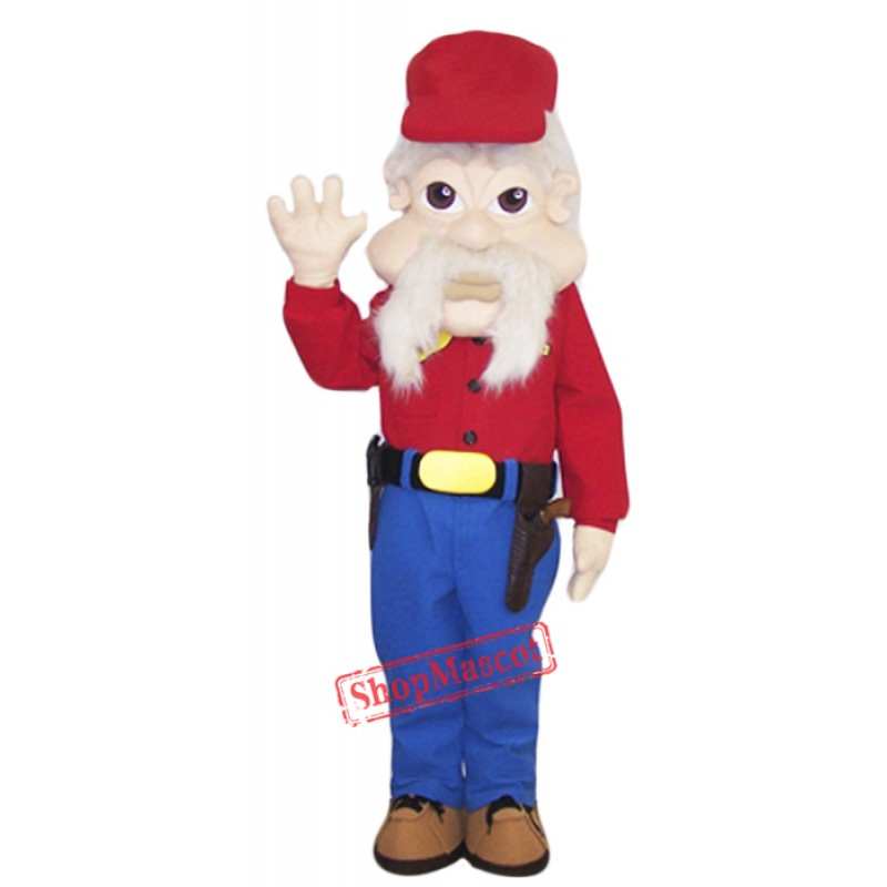 High Quality Warden Mascot Costume