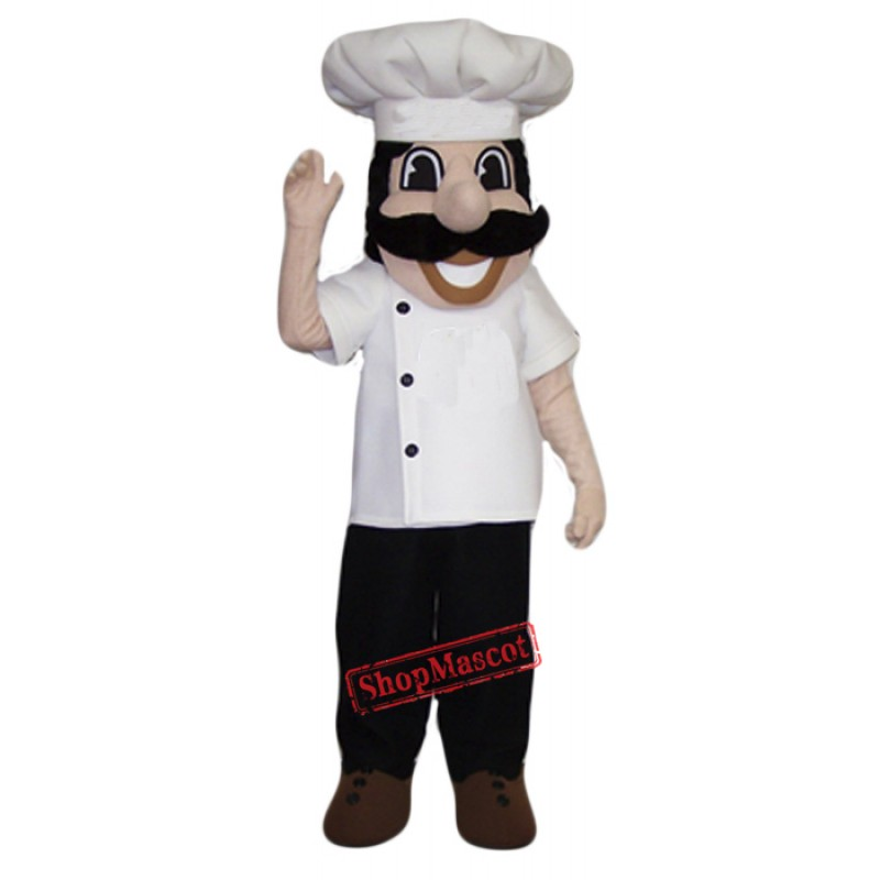 Professional Quality Chef Mascot Costume
