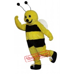 Happy Bee Mascot Costume