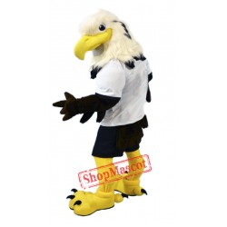 University White Eagle Mascot Costume