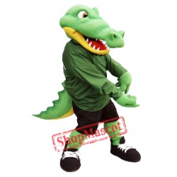 High Quality Alligator Mascot Costume
