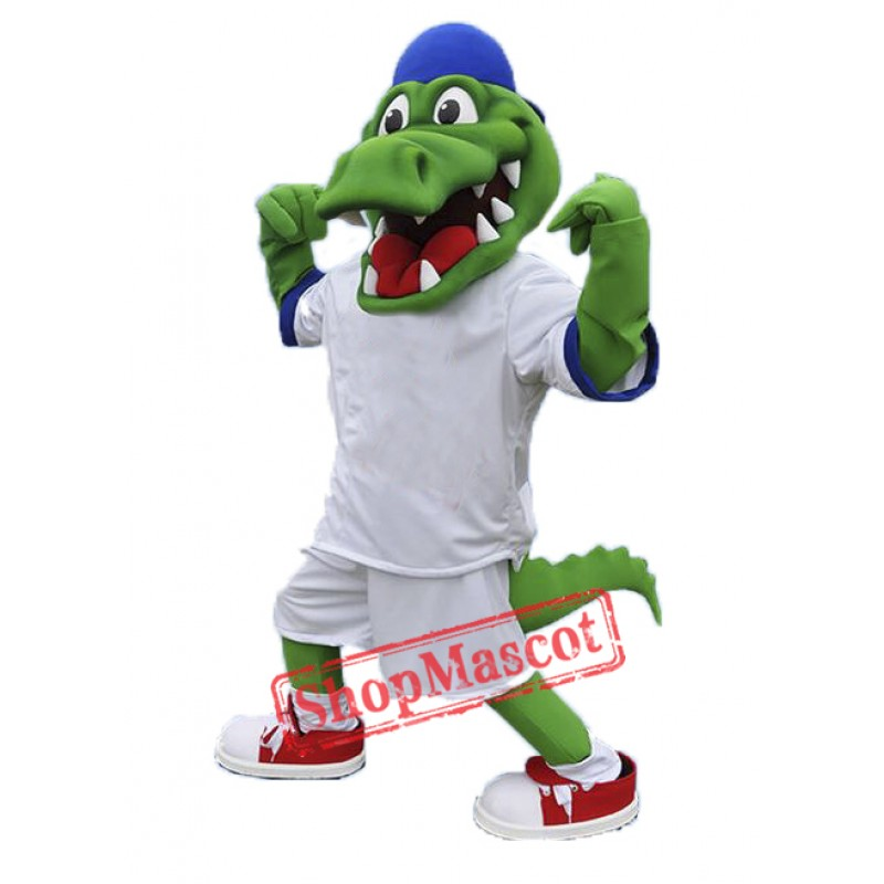 Sport Alligator Mascot Costume