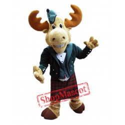 High Quality Adult Moose Mascot Costume