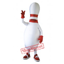 High Quality Bowling Mascot Costume