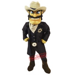 High Quality Cowboy Mascot Costume