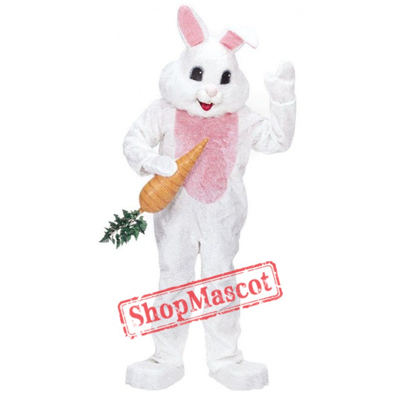 Pink Easter Rabbit Mascot Costume