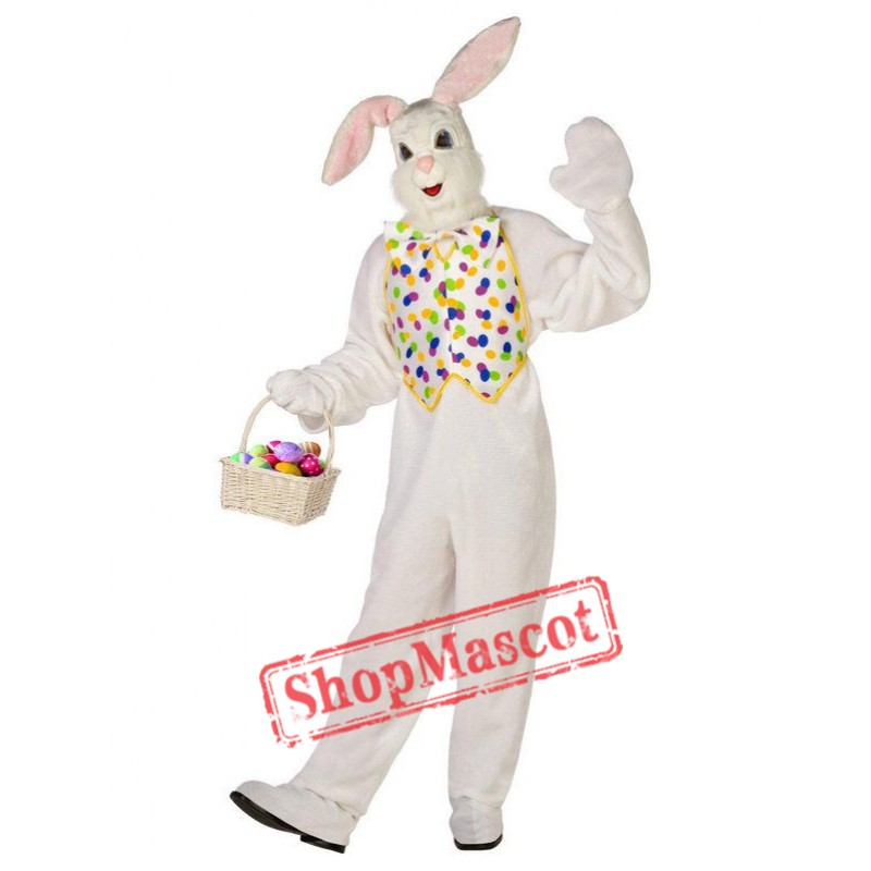 Deluxe Easter Bunny Adult Mascot Costume