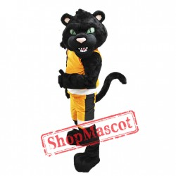 Sport Black Panther Mascot Costume